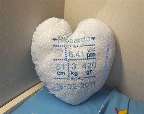 cuscino nascita cuscino nascita a forma di cuore bambini cameretta