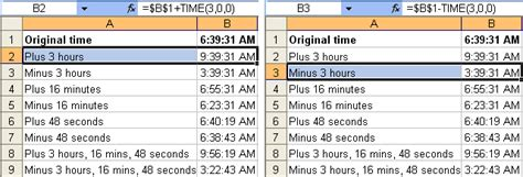 format excel hours minutes seconds tom s tutorials for excel adding and subtracting time in