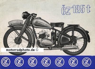 125 Motorrad Typen by Motormobilia Cz Motorrad Prospektblatt Typ 125 T 1948