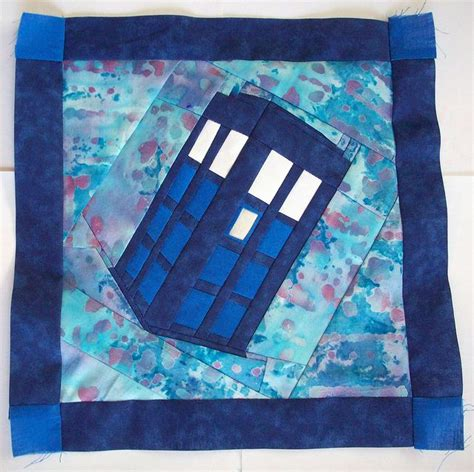 1000 ideas about tardis quilt pattern on