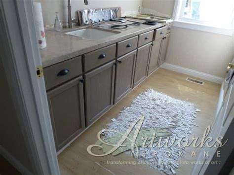 coco chalk paint on laundry room cabinets