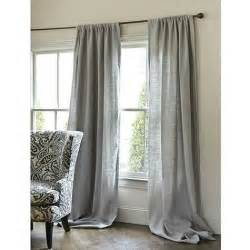 Gray Burlap Curtains Pair Of Gray Burlap Curtains By Zahrazart On Etsy
