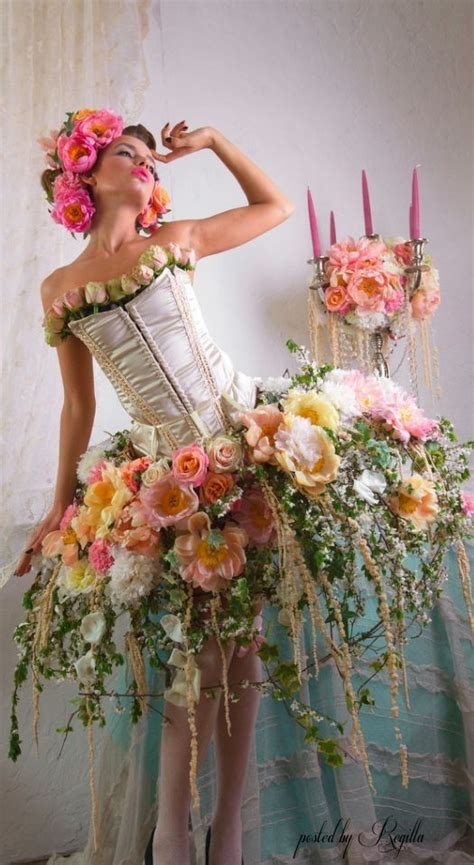 chic decor diy elegant fairy fantasy flower flowers fresh flowers gowns and mini dresses collection