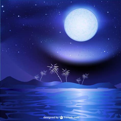 fondo pantalla bonita noche mar mare di notte sfondo paesaggio scaricare vettori gratis