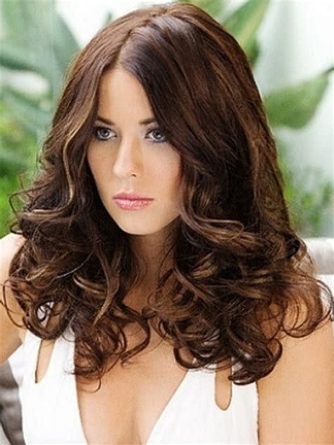 soft curl hairstyle loose curly hairstyles for long hair
