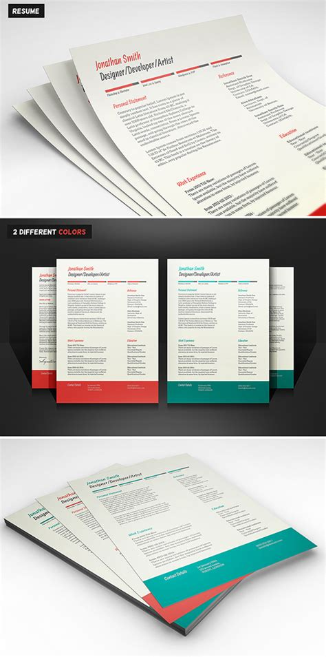 psd resume template 15 free modern cv resume templates psd freebies graphic design junction