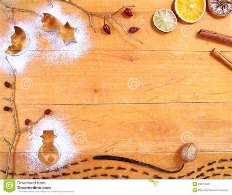 christmas baking background frame stock photo image