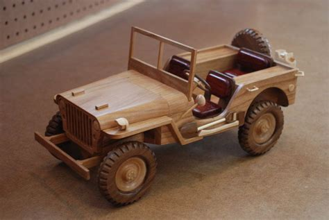 wwii military jeep  woodscrap  view details