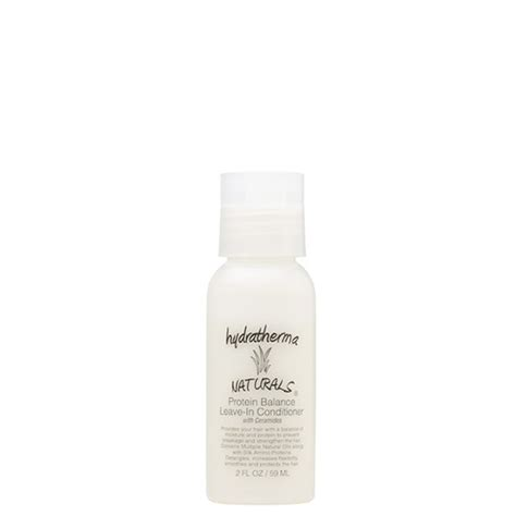 protein leave in conditioner hydratherma naturals protein balance leave in