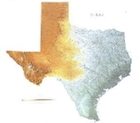 physical texas map texas wall maps