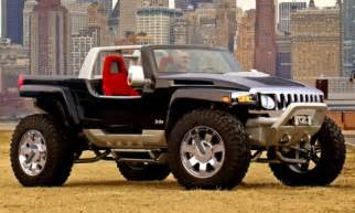 Jeep That Looks Like A Hummer New Hummer Concept Photo Released Hummer