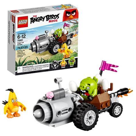 Lego Angry Bird 1 lego angry birds 75821 piggy car escape lego angry
