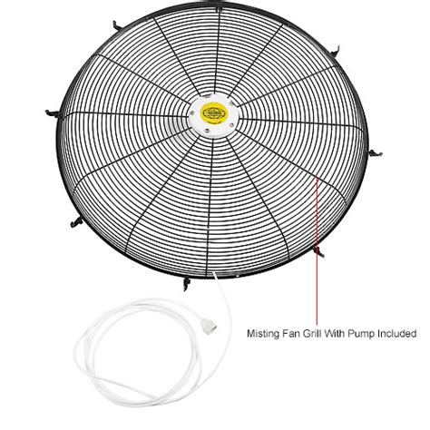 global oscillating wall mount fan 24 diameter 24 inch outdoor misting oscillating wall mounted fan 3 10