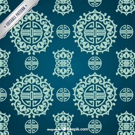 oriental pattern vector free download asian ornamental pattern vector free download