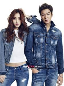 March Jkt Guess Jaket Denim Outerwear Casual Korean Style Murah Ori min ho in guess and summer 2015 collection hancinema the korean and