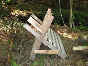 Logging Saw Bench Looking For Sawbuck Bucking Horse Or Sawhorse Design