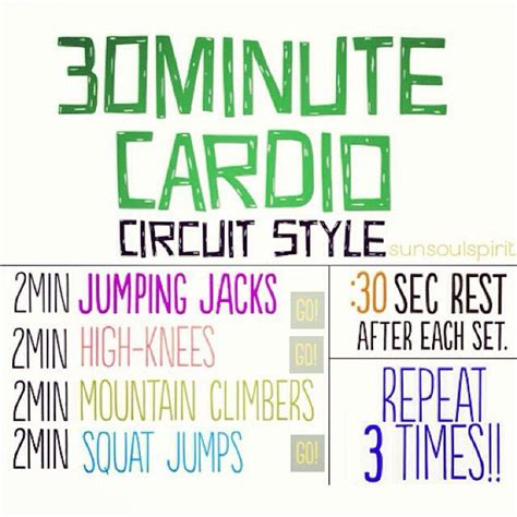 78 best images about cardio workout 30 min more on