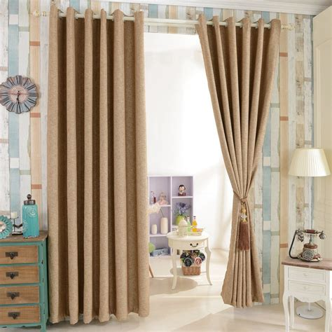 Gorgeous Curtains And Draperies Decor Aliexpress Buy House Design Beautiful Blind Window Drapes Blackout Curtain Modern