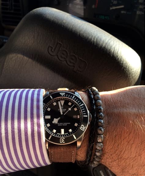 Jeep Canvas Chrono what rolex tudor are you wearing today page 2609