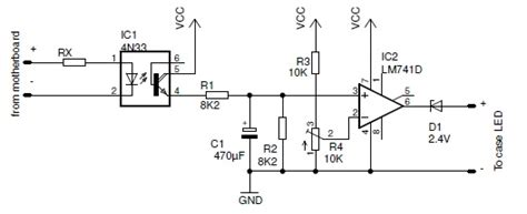 pulse detector circuit diagram pc standby detector