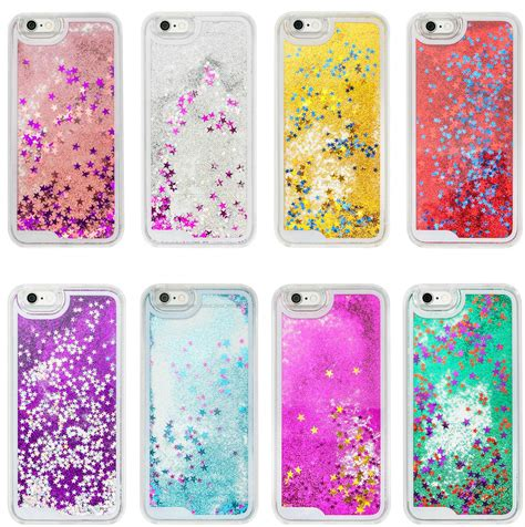 Sparkling Glitter Blink Iphone 6 6s 6 6s Soft Tpu Purple sparkle glitter liquid cover for apple iphone 6 6s 7 7plus ebay