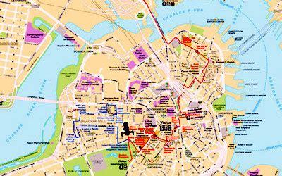 freedom trail boston map freedom trail top boston attraction boston discovery guide