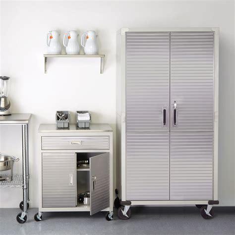 Garage Cabinets On Casters Epoxy Garage Flooring Garage Cabinets Garage Storage