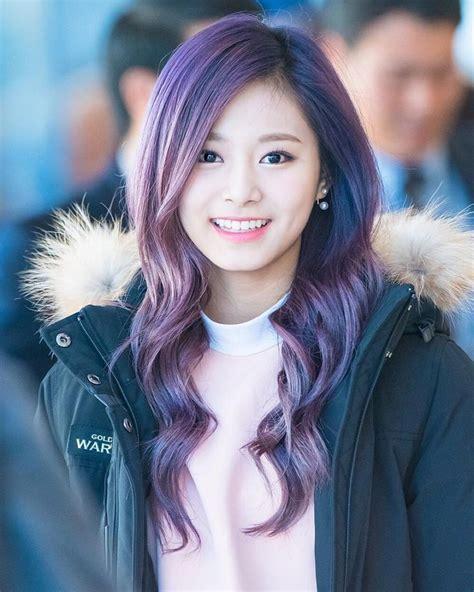old japanese ladies purple hair 224 best tzuyu twice images on pinterest kpop twitter