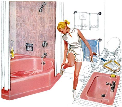 50 s bathroom decor plan59 retro 1940s 1950s decor furniture robert