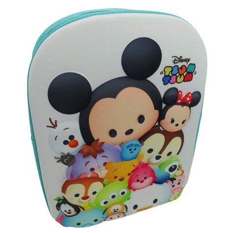 Stiker Tsum Tsum Disney 3d Timbul tsum tsum 3d backpack back to school bag disney