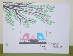 congratulations new baby card personalized baby card