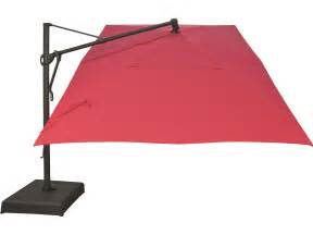 Patio Cantilever Umbrella Treasure Garden Cantilever Aluminum 10 X 13 Foot Cantilever Umbrella Akzrt