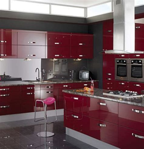 modular kitchen color schemes popular kitchen modern and colors on