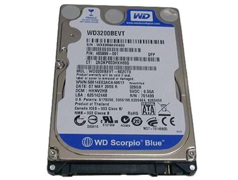 Hardisk Wd Scorpio Blue 320gb goharddrive western digital scorpio blue wd3200bevt 320gb 8mb cache 5400rpm sata2
