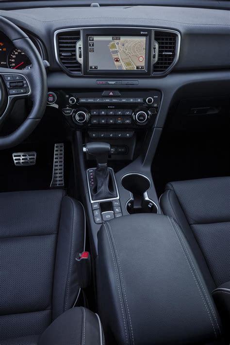 kia sportage 2016 interior 2016 kia sportage reveals interior and tech specs before