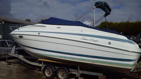 Cabin Cruisers For Sale In Scotland by Chris Craft 240 Cabin Cruiser Boat Is For Sale In Cornwall