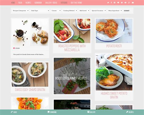 themes wordpress recipes 5 most downloaded wordpress themes for june 2015