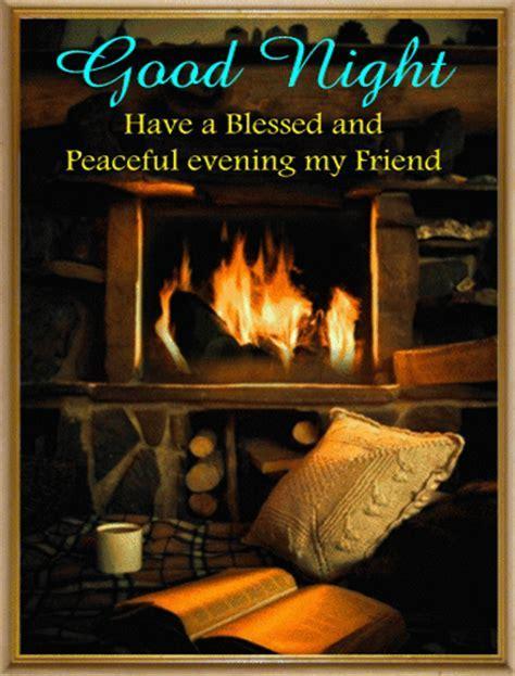 A Blessed Good Night Ecard. Free Good Night eCards