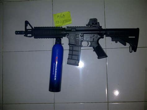 Pisir M4 Dan Gas jual senapan laras panjang m4 carbarine gas harga murah jakarta oleh aga airsoftgun jakarta