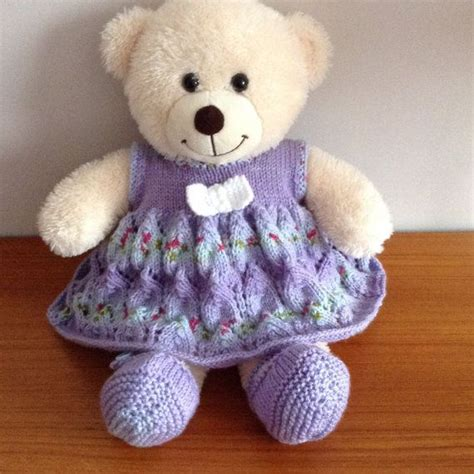 pattern teddy bear clothes 1000 images about knitted teddy clothes on pinterest