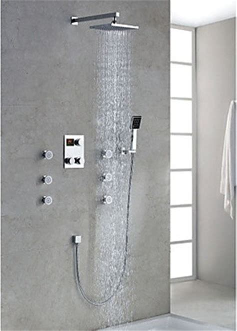 Modern Shower Fixtures by Shower Faucets Modern New York By Faucetsuperdeal