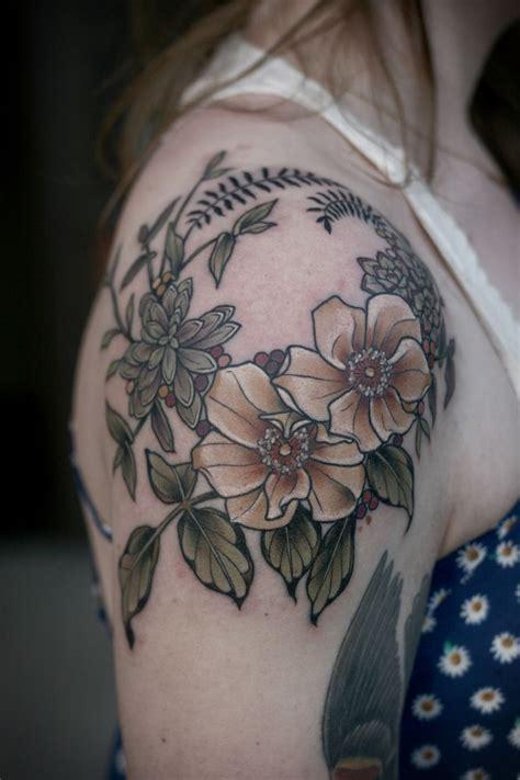rose wreath tattoo 25 best ideas about vintage flower on