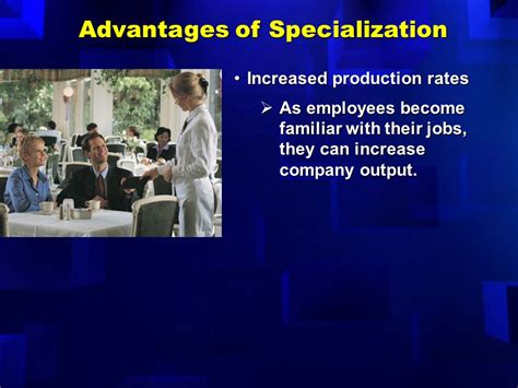 Mba Specializations Increase Employment Rates by Specialization And Division Of Labor Ppt