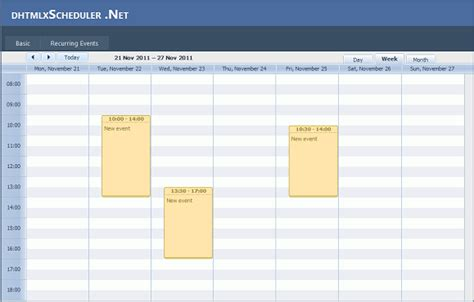 design calendar in vb net dhtmlx scheduler net dhtmlx scheduler net in visual