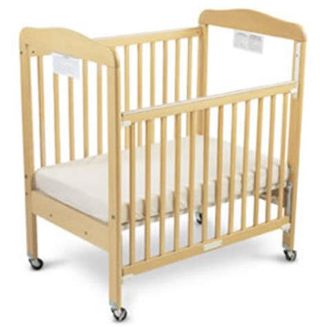 serenity compact size drop side crib by foundations