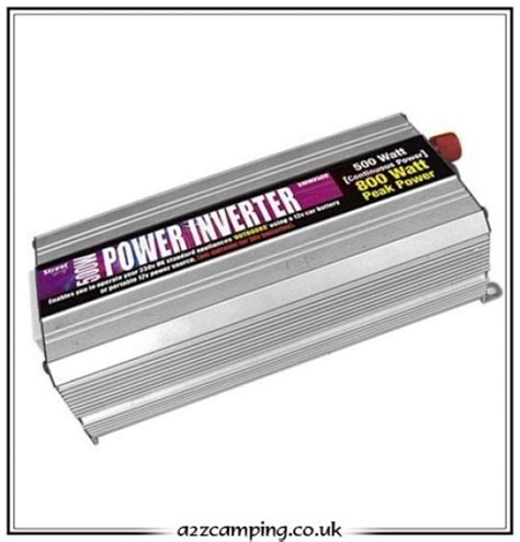 Power Bell 500 Watt 500 watt power inverter converter for 12 volt to 240 volt