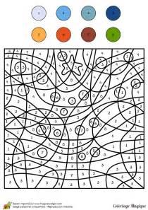 Coloriage Magique Cm1 Addition L L L L L L L L
