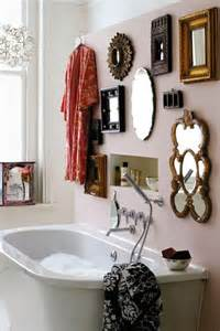 bathroom wall mirror ideas creating the mirror gallery wall home decorating