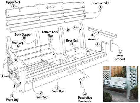 woodworking plans porch swing free porch swing plans woodwork city free woodworking plans