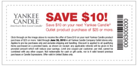 printable coupons yankee candle outlet yankee candle outlet coupon 10 25 purchase
